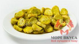 Сухари багет Сметана-зелень Коронные