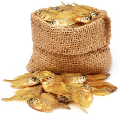 Хранение рыбы в мешке