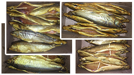 Северная копченая рыба