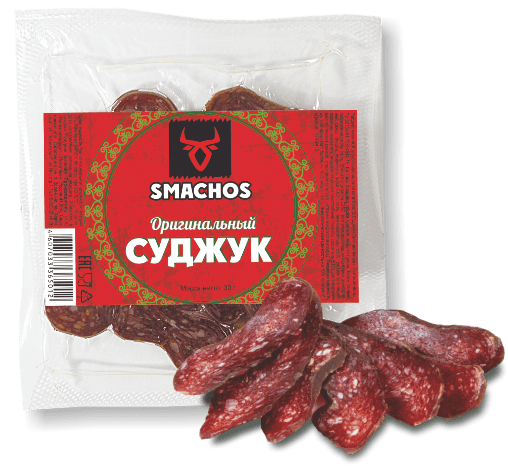 Колбаса сыровяленая Суджук оригинальный