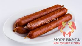Колбаски пикантные из оленины в/к
