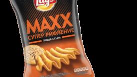 LAYS Maxx Пицца 4 сыра
